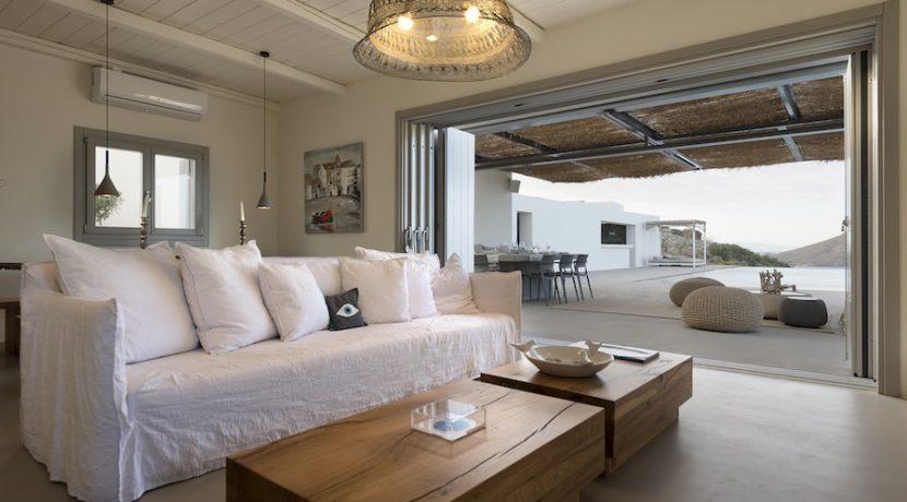 Minimal Villa in Paros, Insterni area 19