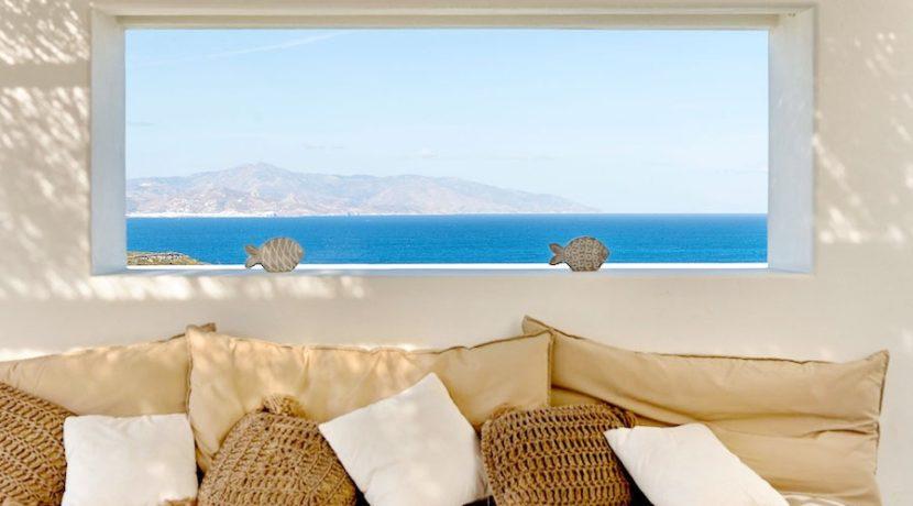 Minimal Villa in Paros, Insterni area 20