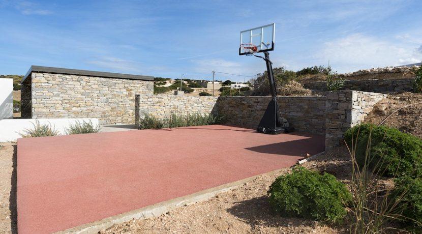 Minimal Villa in Paros, Insterni area 22
