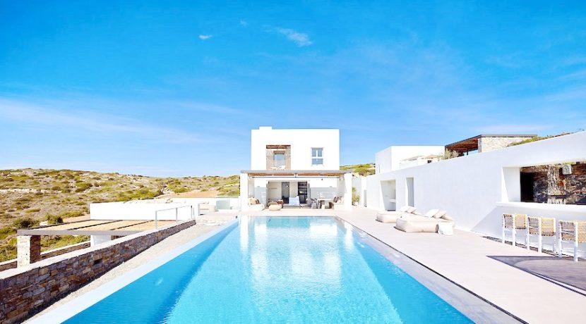 Minimal Villa in Paros, Insterni area 4