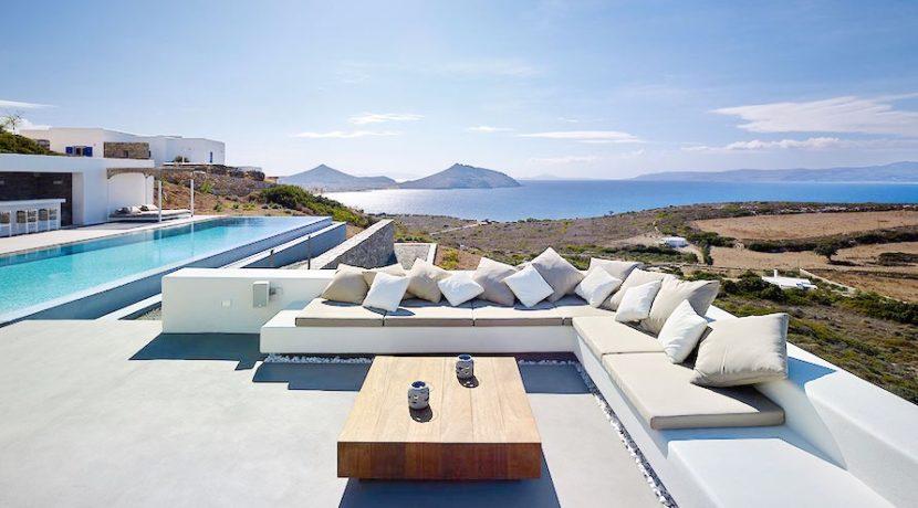Minimal Villa in Paros, Insterni area 7