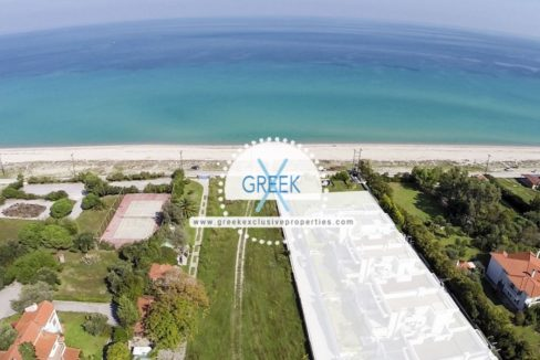 Seafront Land to Built Chanioti Halkidiki