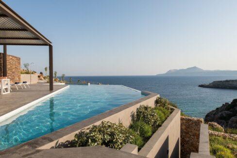 Seafront Villa in Crete. Property for sale in Crete Chania, property for sale in Greece beachfront