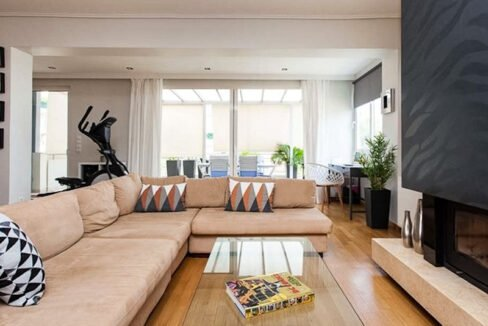 Apartment with Sea View, Upper Glyfada Athens 13