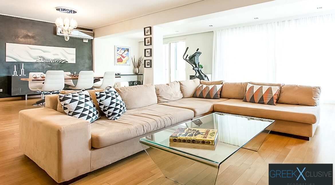Apartment with Sea View, Upper Glyfada Athens