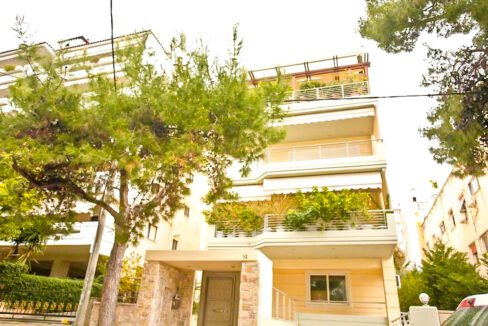 Apartment with Sea View, Upper Glyfada Athens_