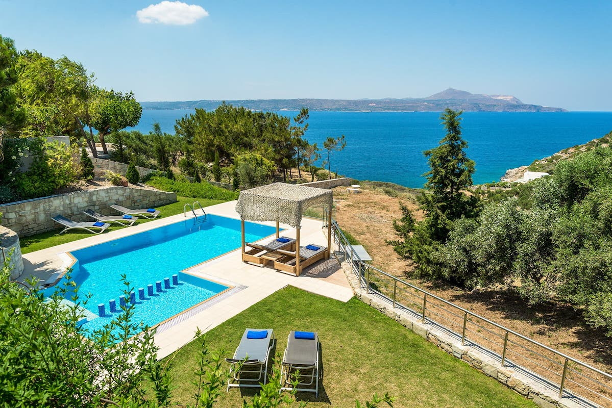 Beach Villa For Sale Crete Greece, Plaka Chania