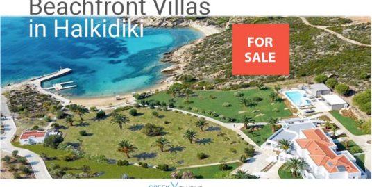Beachfront Villas Halkidiki for Sale, Kassandra villas, Halkidiki villas for sale, Sithonia real estate, Halkidiki properties for sale