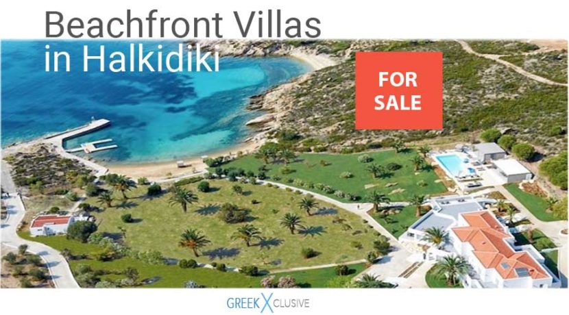 Beachfront Villas Halkidiki for Sale, Kassandra villas, Halkidiki villas for sale, Sithonia real estate, Halkidiki properties for sale