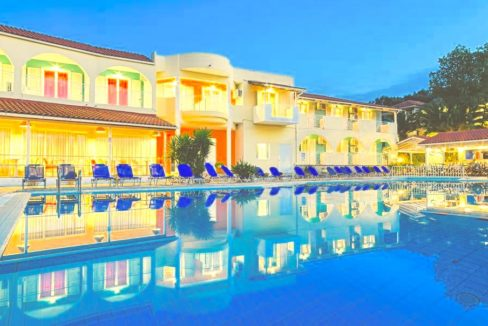 Hotel for Sale Zakynthos, Hotel Real Estate, Invest in Hotel in Zakynthos, Hotel Sale in Ionio Greece