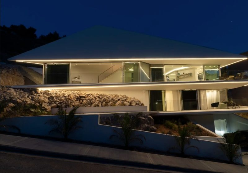Luxury Minimal House For Sale Voula Attica Greece