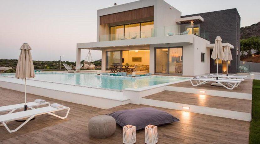 New Built Villa at Chania with Amazing Sea Views 12