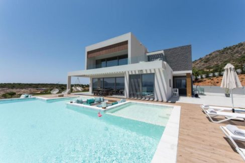 New Built Villa at Chania with Amazing Sea Views 1