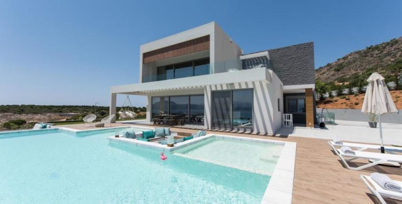 New Built Villa at Chania with Amazing Sea Views 1