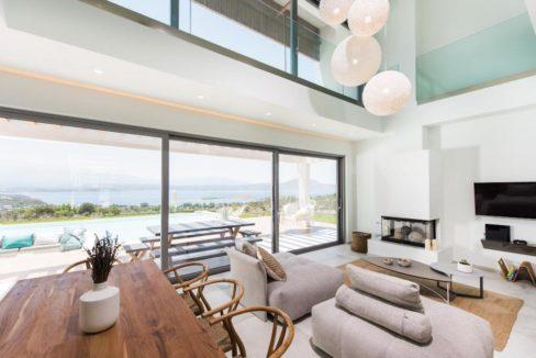 New Built Villa at Chania with Amazing Sea Views 3