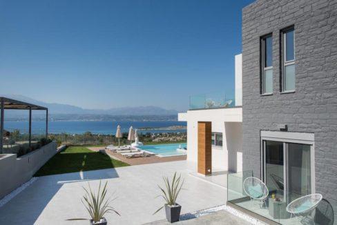 New Built Villa at Chania with Amazing Sea Views 4