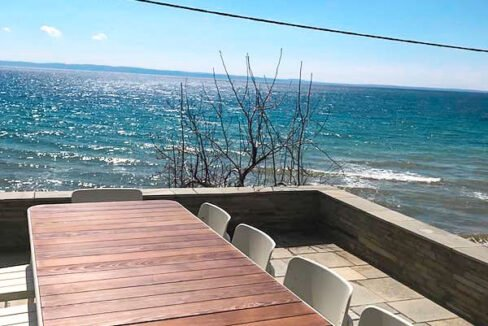 Seafront Land for sale in Nikiti Sithonia, Seafront Property at Nikiti Halkidiki 1