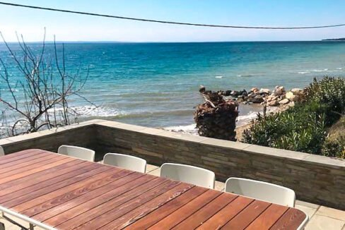 Seafront Land for sale in Nikiti Sithonia, Seafront Property at Nikiti Halkidiki 2