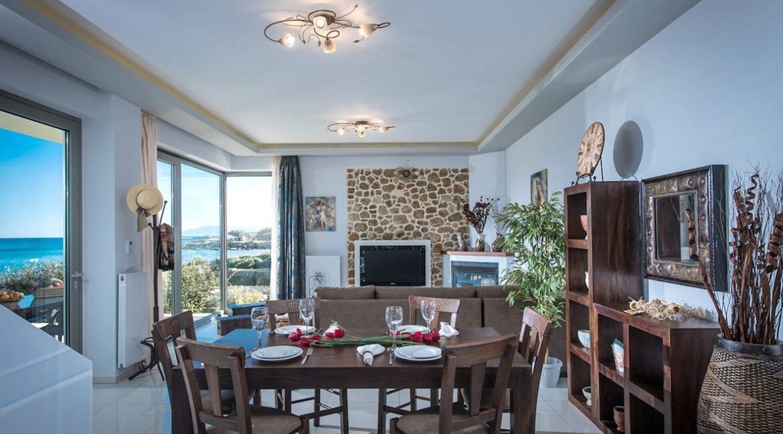 Seafront Villa in Gouves near Heraklio Crete. Seafront Properties in Crete Greece 10