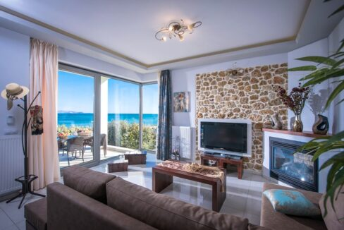 Seafront Villa in Gouves near Heraklio Crete. Seafront Properties in Crete Greece 11