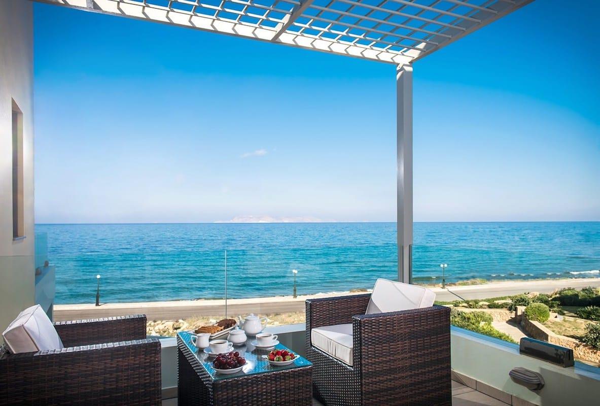 Seafront Villa in Gouves near Heraklio Crete