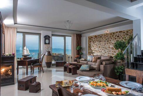 Seafront Villa in Gouves near Heraklio Crete. Seafront Properties in Crete Greece 43
