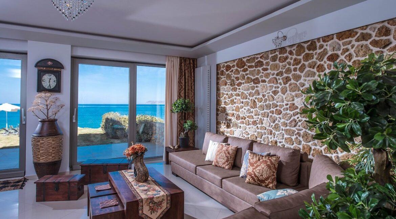 Seafront Villa in Gouves near Heraklio Crete. Seafront Properties in Crete Greece 44