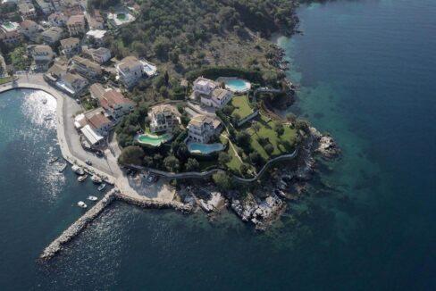 Seafront Villas in Corfu Greece