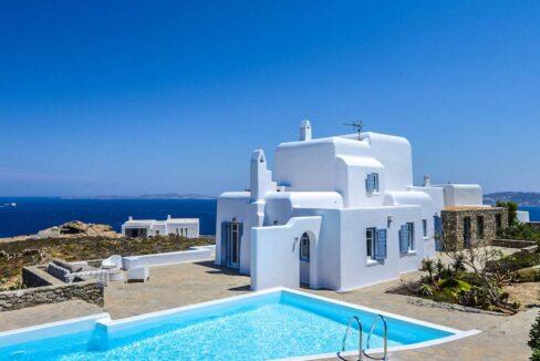 Villa Mykonos with Pool and Sea Views