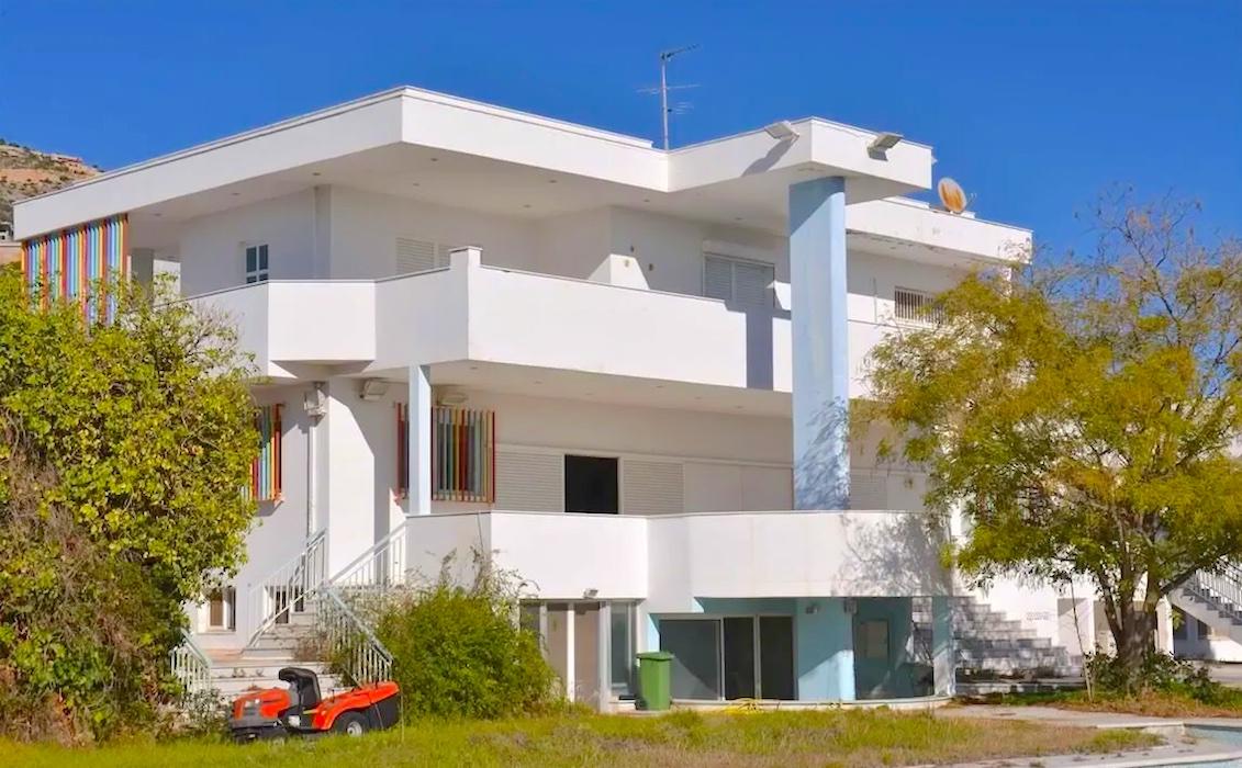 Villa with Pool near the sea at Anavyssos Attica, Heavily Reduced ( needs renovation)