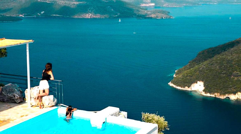 Villas in Lefkada Ionian Sea. Lefkada villas for sale