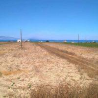 Land To built near Oia in Santorini, Baxedes area1