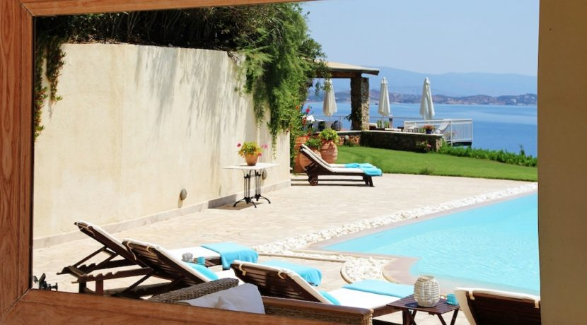 Luxury villa at Porto Cheli Greece 17