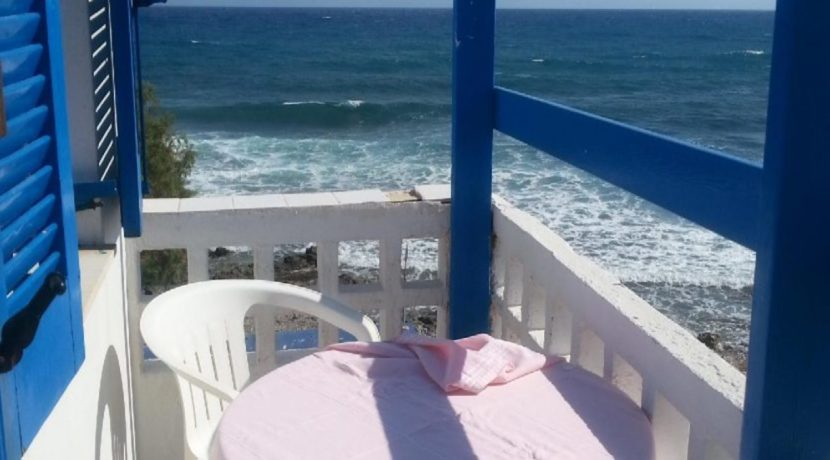 Sea front hotel for sale in Crete