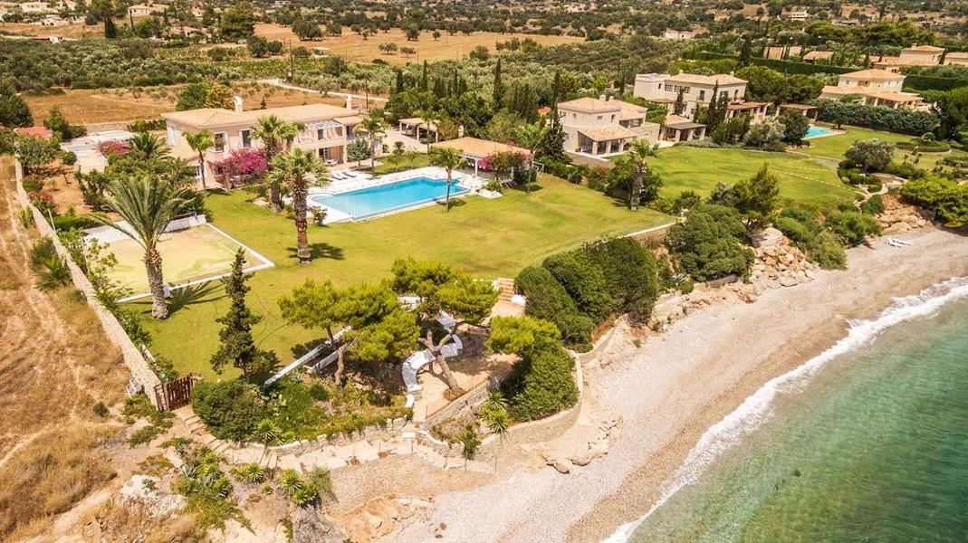 Seafront Luxury Villa at Porto Heli , Peloponnese
