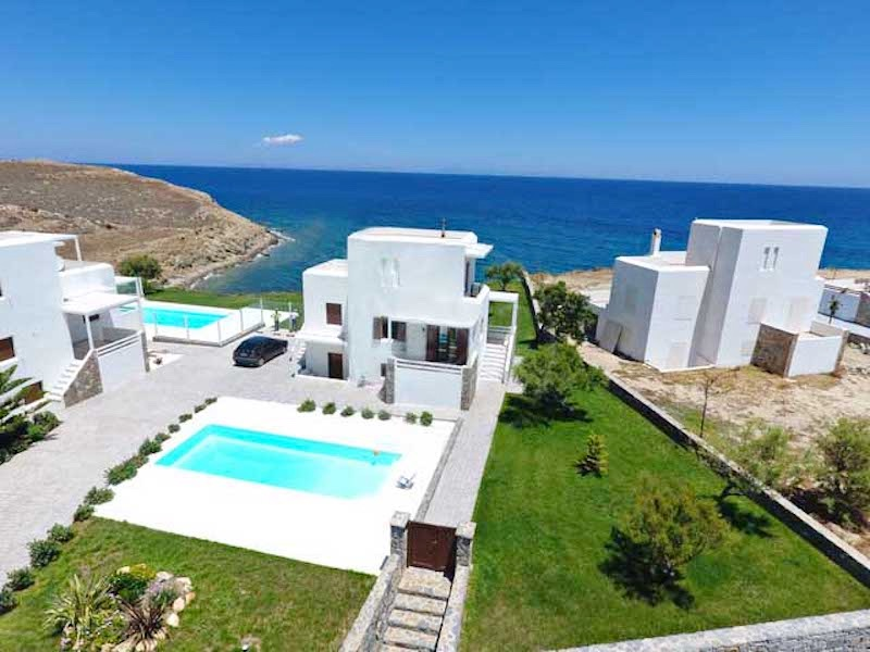 Seafront Maisonette with Private Pool, Naxos Island