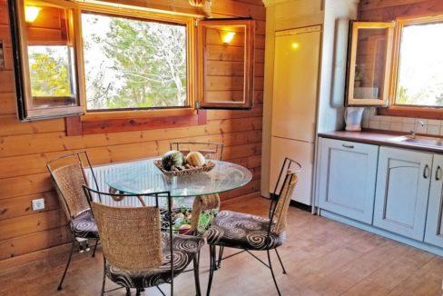 Wooden Luxury villa in Corfu 1