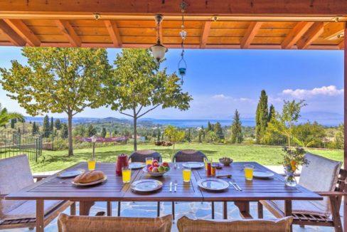 Wooden Luxury villa in Corfu 11