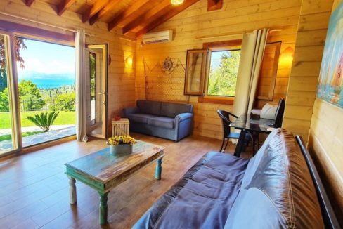 Wooden Luxury villa in Corfu 12