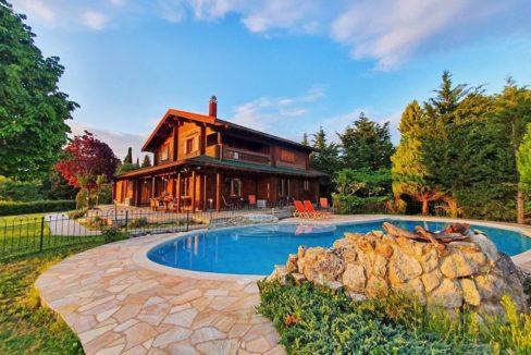 Wooden Luxury villa in Corfu 18