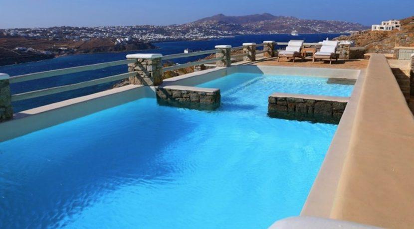Excellent Sea View Villa at Ornos Mykonos 1