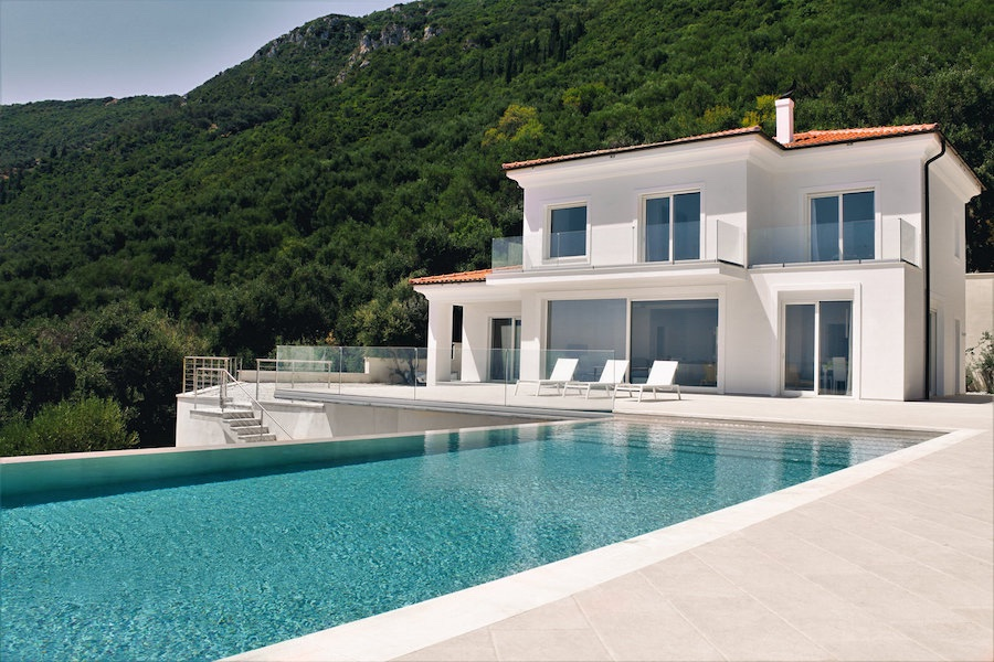Luxury Villa In Corfu, ability to expand