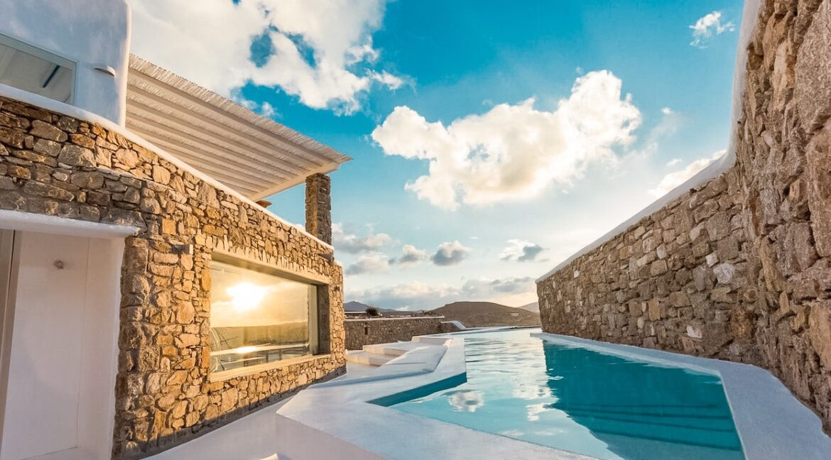 Luxury estate for sale Mykonos. Modern Villa Mykonos