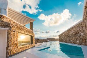 Luxury estate for sale Mykonos. Modern Villa Mykonos