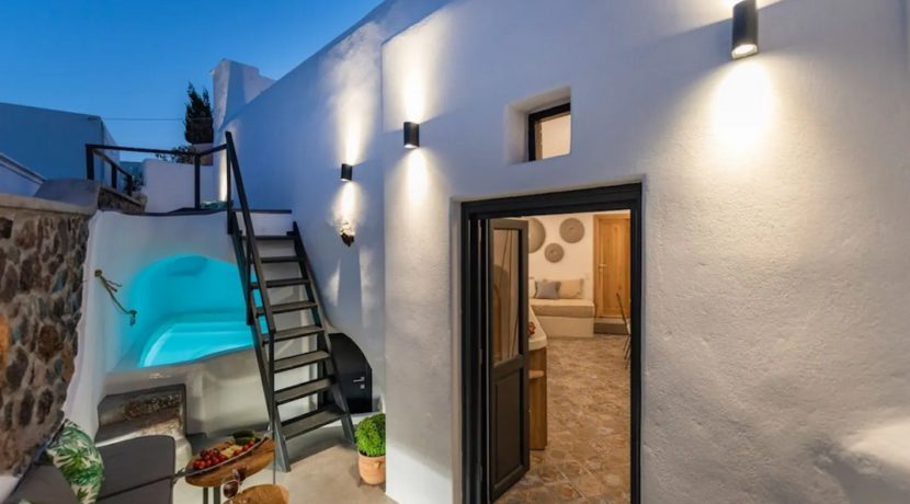 Santorini cave house for sale, traditional cave house Santorini for sale 2