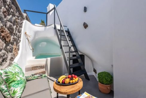 Santorini cave house for sale, traditional cave house Santorini for sale 20