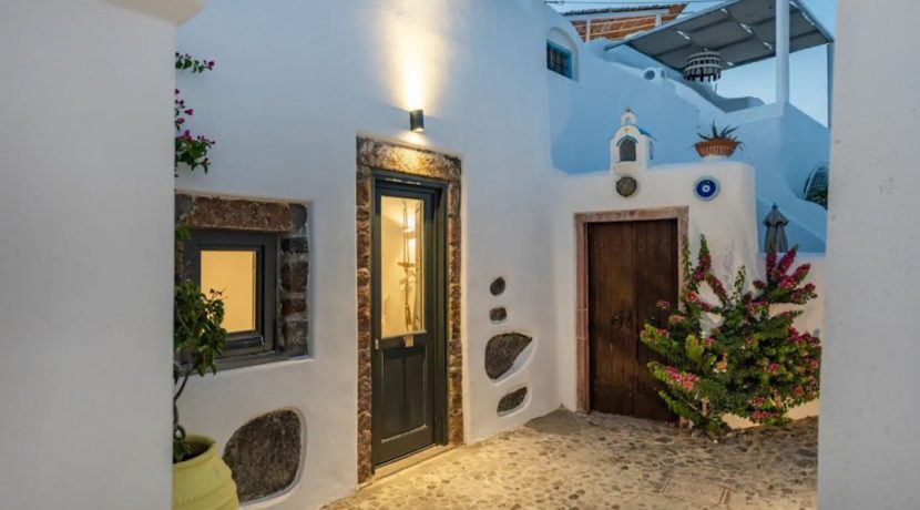 Santorini cave house for sale, traditional cave house Santorini for sale 23