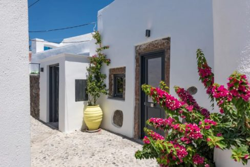 Santorini cave house for sale, traditional cave house Santorini for sale 24