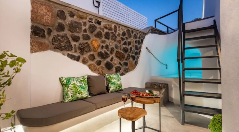 Santorini cave house for sale, traditional cave house Santorini for sale 3