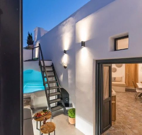 Santorini cave house for sale, traditional cave house Santorini for sale 5